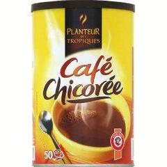 Cafe chicoree, la boite de 250g