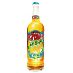 Biere Desperados tequilla lime 3%vol. 65cl