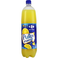 Carrefour Pulp' orange 1,5L