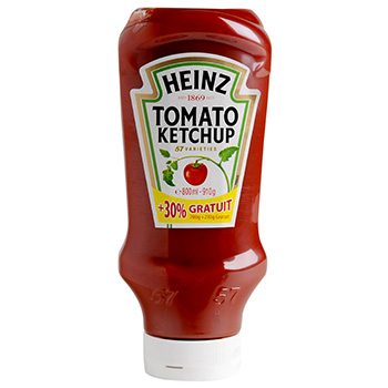 Heinz ketchup top down 700 g