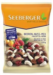 Assortiment de baies sechees et de noix SEEBERGER, 150g