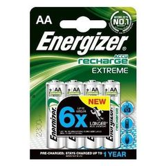 Energizer 4 HR6 2300 MAH pre charge