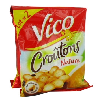 Croutons nature VICO, 2x90g