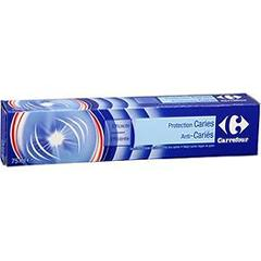 Dentifrice protection caries