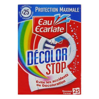 lingettes anti decoloration decolor stop tous les produits anti d coloration prixing. Black Bedroom Furniture Sets. Home Design Ideas