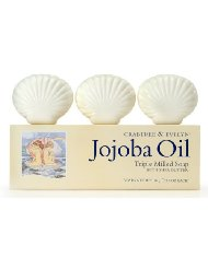 Crabtree & Evelyn Jojoba Oil Triple Milled Soap Box with Shea Butter 3 x 100 g
