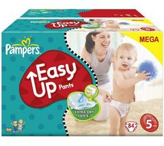 Pampers easy up mega junior change x78