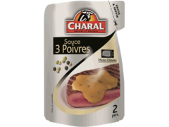 Charal sauce 3 poivres 120g