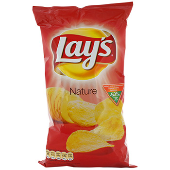 Lay's chips nature 270g