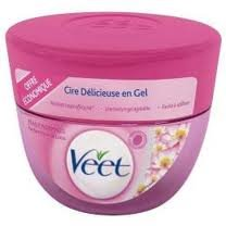 Veet cire delicieuse en gel peaux normal 250ml