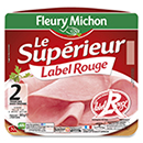Fleury Michon jambon decouenne Label Rouge 2x80g