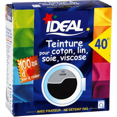 ideal teinture tissu liquide maxi noir 75ml tous les produits teintures prixing. Black Bedroom Furniture Sets. Home Design Ideas
