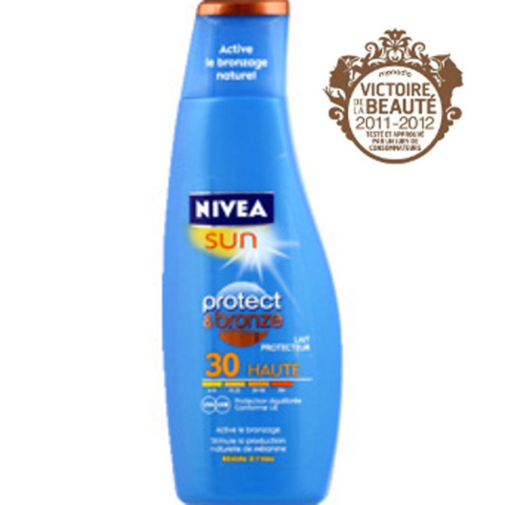 Nivea sun lait protect & bronze fps30 200ml