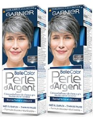 Garnier Belle Color Perle d'Argent Coloration permanente Gris Argent 115 ml - Lot de 2