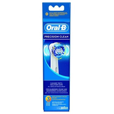 Recharge pour brosse a dent a piles signal integral 2 - Brossettes oral b precision clean ...