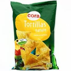 Cora tortilla chips nature 150g