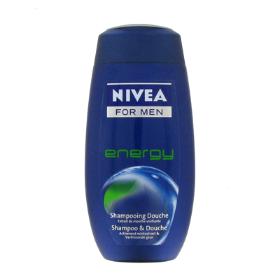 Shampooing douche Energy NIVEA FOR MEN, 250ml