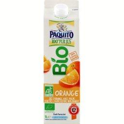 Pur jus d'orange bio, la brique de 1l