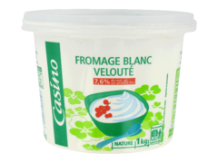 Fromage blanc veloute Casino 1 Kg