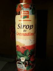 Belle France Sirop de Grenadine 75 cl - Lot de 6