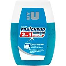 Dentifrice liquide 2 en 1 fraicheur By U flacon 75ml