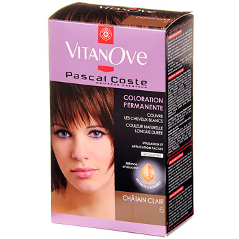 Coloration Vitanove permanente Chatain clair n18