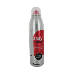 Auchan spray coiffant fixation extra forte 250ml