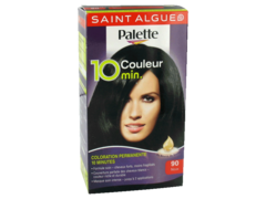 Coloration permanente Saint-Algue Palette Couleur 10 minutes, noir n°90