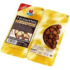 Noisettes decortiquees U, 125g