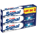 Signal dentifrice système blancheur 3x75ml