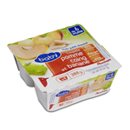 Auchan Baby coupelles pomme coing banane dès 4 mois 4x97g