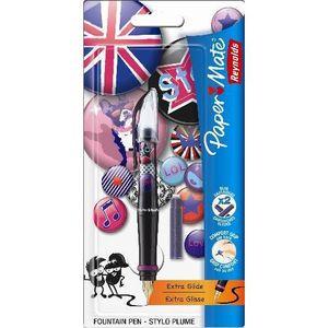 papermate by reynolds mon stylo plume dark girl le blister tous les produits stylos feutres. Black Bedroom Furniture Sets. Home Design Ideas