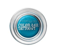 Gemey Maybelline Eyestudio Color Tattoo 24h Ombre à Paupières 20 Turquoise Forever