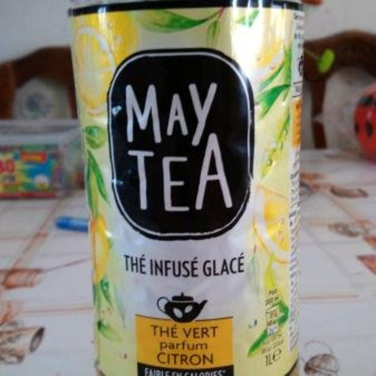 the infuse glace saveur citron pet maytea 1l