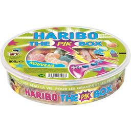 Haribo, The pik box, la boite de 600 gr