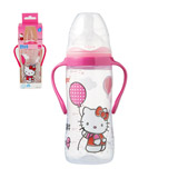 Biberon 2eme ege avec poignees hello kitty TIGEX, 300ml