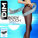 Dim collant body touch absolu noir taille 1
