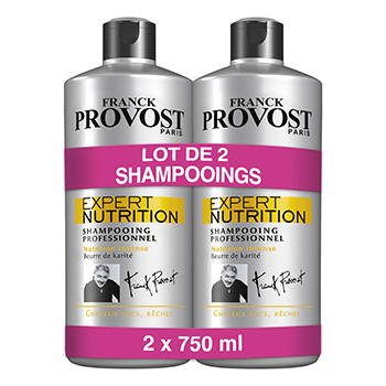 Apres-shampooing Franck Provost Expert nutrition 2x750ml