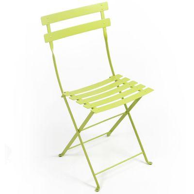 chaise bistro metal verveine tous les produits jardin prixing. Black Bedroom Furniture Sets. Home Design Ideas