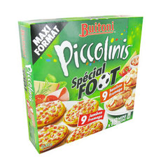 Piccolinis - Minis pizza jambon fromage, saucisse fromage