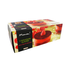 Mmm douceurs glacees fruits rouges 2x60g