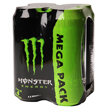 MONSTER ENERGY BOITE 50CLX4