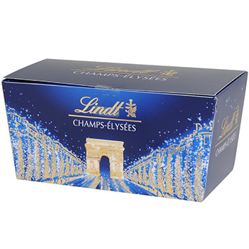 Chocolats assortis Champs Elysees LINDT, 21 unites, 220g