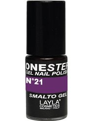 Layla Cosmetics Milano Vernis à Ongles One Step Gel Purple Rain 5 ml