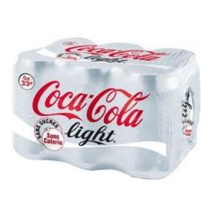 Coca-cola light boite 33cl x24