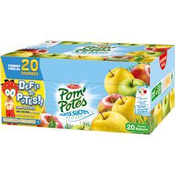 pomme nature sans sucres ajoutes pom potes tous les produits compotes prixing
