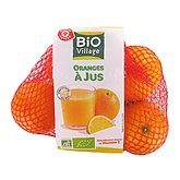 Orange à jus Bio Village Bio 1kg