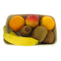 Assortiment de fruits bio