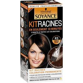 Coloration kit racine SOYANCE, chatain cuivre