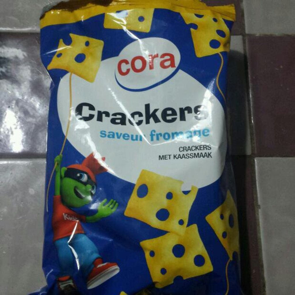 Cora kido crackers fromage 100g